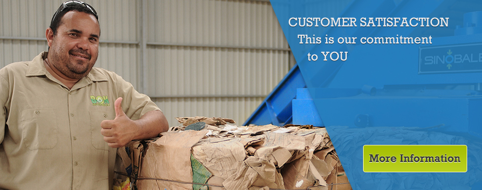 Customer Satisfaction - This is our commitment to YOU